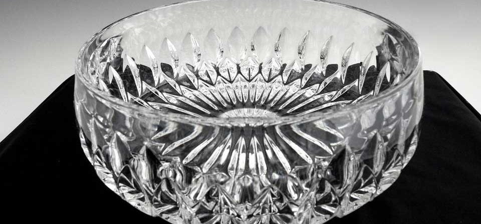 Crystal glass bowl repairs